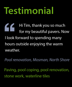 Testimonial – Pool Paving & Renovation