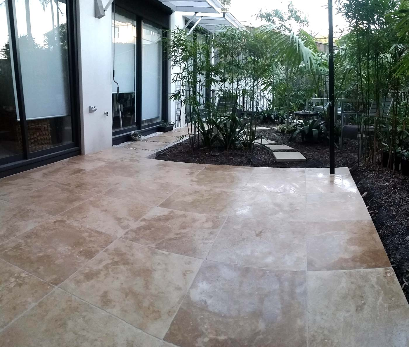 Queenscliff outdoor paving by Pavepro