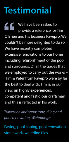 Testimonial – Pool Refurbishment